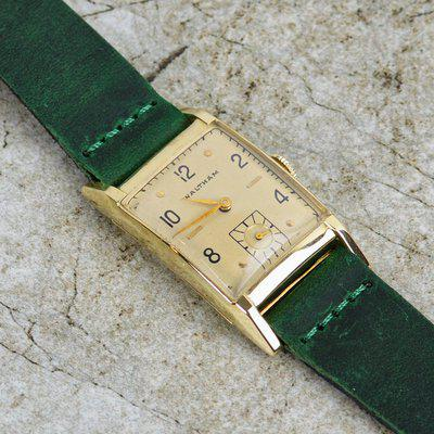 [WTS] Vintage 14k Solid Gold Waltham Tank - Fully Serviced