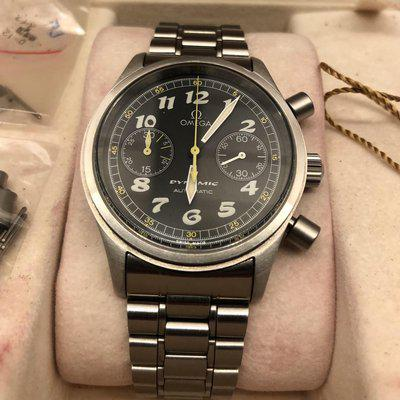 FS: Omega Dynamic III Chronograph 5240.50 on bracelet, box and papers. Lots of pictures