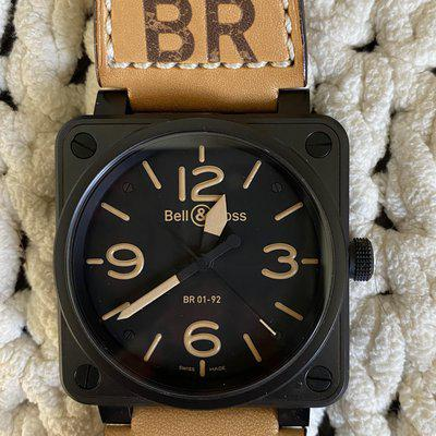 Like new Bell&Ross 46mm BR01-92 Heritage