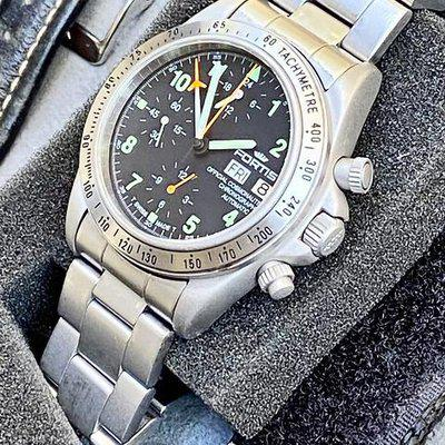 For Sale the original Fortis Official Cosmonauts - 602.22.142 with Lemania 5100 in a very rare collector set at a great price