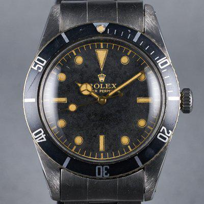 FS: 1956 Rolex Submariner Ref: 6536-1