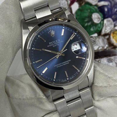 FS:Rolex Oyster Perpetual Date 15200 Blue Dial Box & Papers