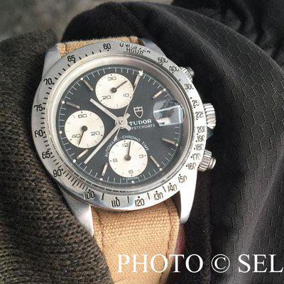 FSOT: RARE TUDOR 94300 Chronograph Reverse Panda, Lots of PHOTOS...