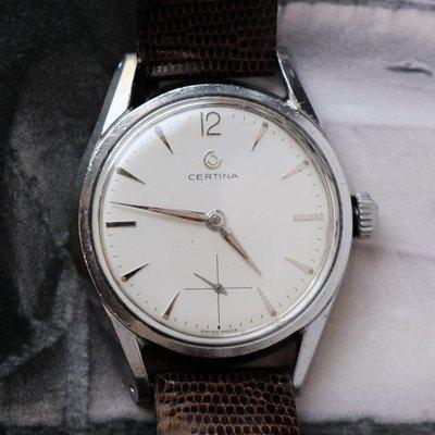 FS: Vintage Certina Sub-seconds with Perfectly Aged Lume and Near Flawless Dial.