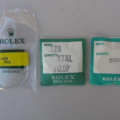 FS: NOS Rolex/Tudor plastic crystal 128 for Tudor Monte Carlo 7031 7032 7149 7159 7169
