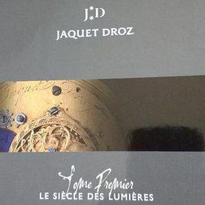 FS: JAQUET DROZ Book – The Age of Enlightenment