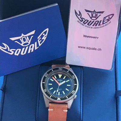 FS: SQUALE 50 ATMOS MILITARE OPACO MATTE - LIKE NEW/MINT - REDUCED