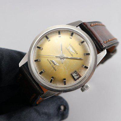 FS - Nice 1967 Longines Ultra-Chron Ref. 7827 with kool Tropical dial
