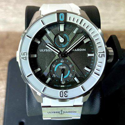 WTS: Limited Edition Ulysse Nardin Antarctica Titanium Only 300 Made! White Grey Teal