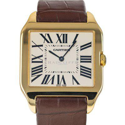 FS- Cartier 2649 Santos Dumont 18 KT Yellow Gold Manual Wind Movement