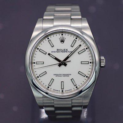[WTS] 2018 Rolex Oyster Perpetual Ref. 114300   White Dial   Full Set