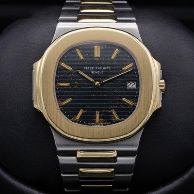 "FSOT: Patek Philippe - Nautilus - ""JUMBO"" - 3700 - BLUE ""TROPICAL"" Dial - EXC Cond"