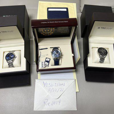 [WTS] Longines and Tag Watches