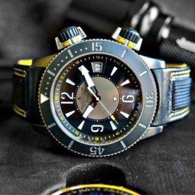FS: VERY RARE! 1-62 Jaeger-Lecoultre (JLC) Navy SEALs Alarm, (boutique only) Incursion addition Q183T420