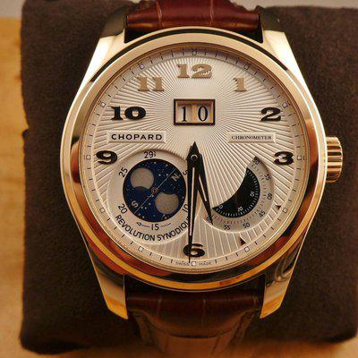 LUC CHOPARD L.U.C. LUNAR BIG DATE SOLID RED GOLD LIMITED EDITION REF. 116918-5002 BNIB !!