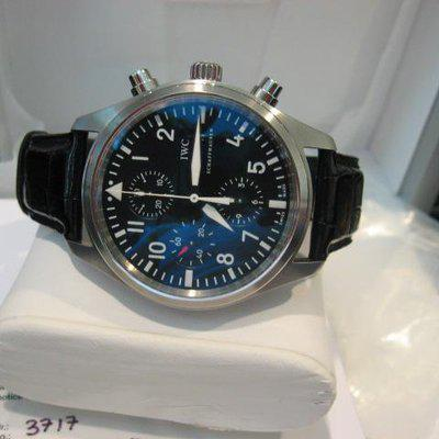 FS: IWC 3717 Stainless Steel Chronograph