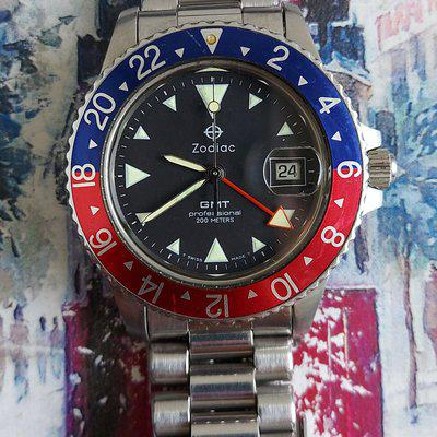[WTS] Zodiac GMT Pepsi from 90s