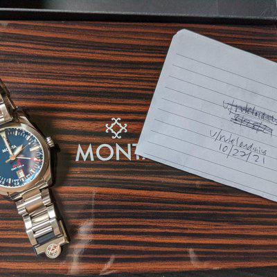 [WTS] Monta Atlas GMT Blue, complete box and papers and lot of ladies watches