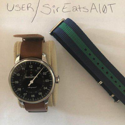 [WTS] (Meistersinger ) (Perigraph) (Hard to Find Black Dial)