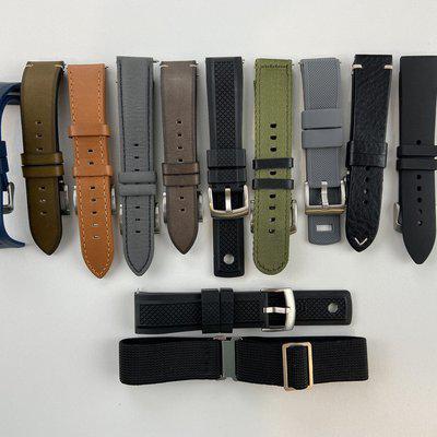 [WTS] 20 and 22mm Strap lot - lots of good stuff - Nodus, Barton, Two Stitch, Scurfa, etc