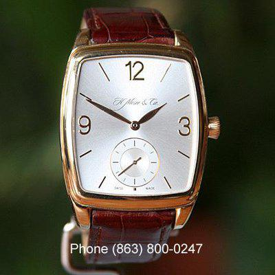FS H.MOSER & CIE. HENRY DOUBLE HAIRSPRING ROSE GOLD 324.607-004