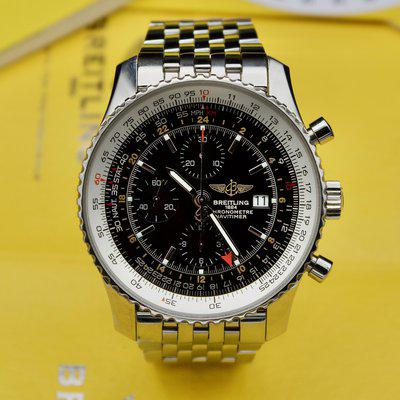[WTS] Breitling Navitimer World GMT Chronograph A24322 - Full Kit, Excellent Condition