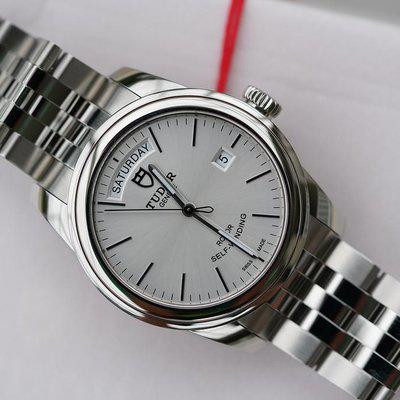 FS:NIB Tudor Glamour Date Stainless Silver 56000.