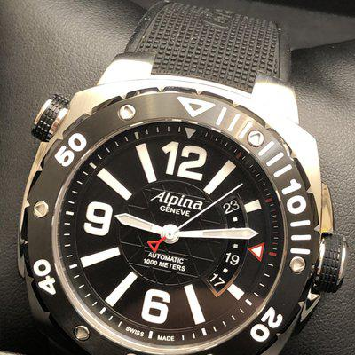 MUST SEE: Alpina Extreme Diver AL525X5AEV6. Full Set, ONLY $975. Tourneau purchase!!!