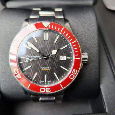 [WTS] Christopher Ward C60 Trident Pro 600 MkII 43mm - Red Bezel
