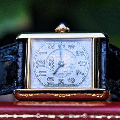 FS: Super Rare Must De Cartier 2415, Serviced with Original Box and Papers