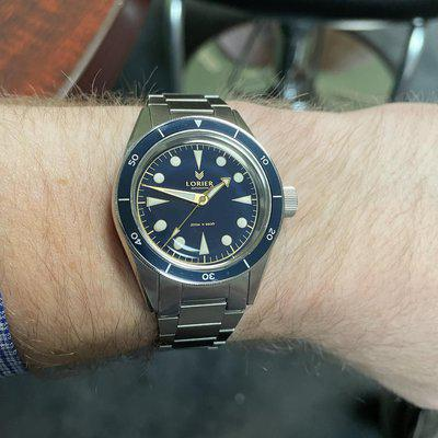 [WTS] REPOST & REDUCED Lorier Neptune III Blue/Gilt $330