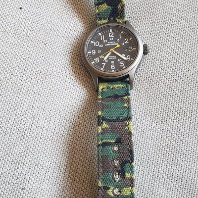 FS: Timex Scout Expedition with camo strapco