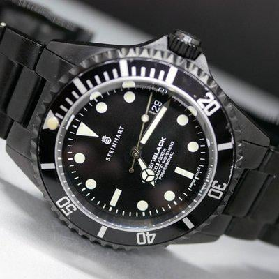 [WTS] Steinhart Ocean One Black DLC ($320) Repost with Reduced Price.