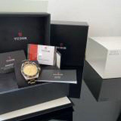 Tudor Black Bay Stahl-Gold S&G M79733N-0004 Stahlgoldband Full-Set