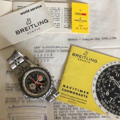 BREITLING NAVITIMER 1810 YACHTING with papers
