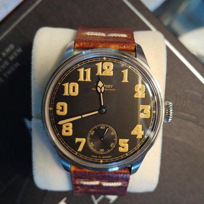 Sold: Tourby Old Military Vintage 43mm