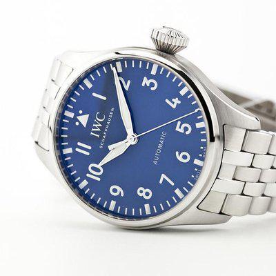 fsot - IWC Big Pilot 43 - Blue - Bracelet - IW329304 ( new / 2021 )