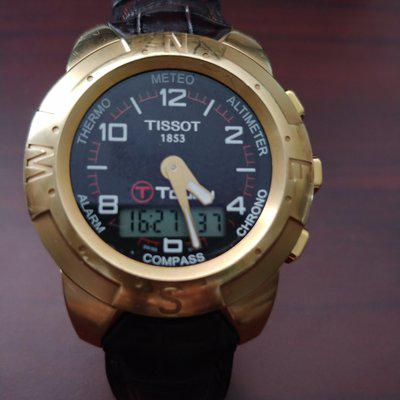 Tissot T touch Solid 18k gold
