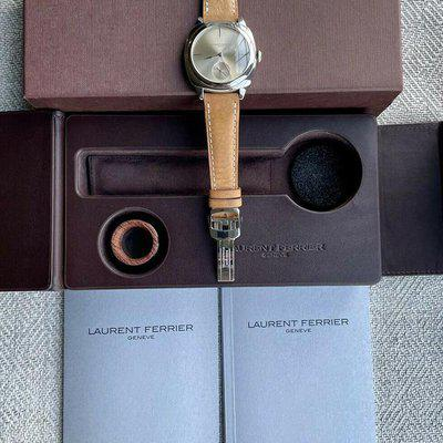 FS: Laurent Ferrier Galet Square Micro-rotor Champagne Dial
