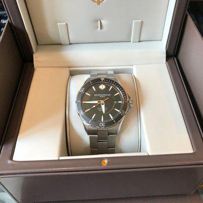 FS: Baume & Mercier Clifton Club Black Dial Automatic MOA10340 42MM