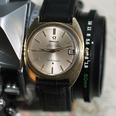 [WTS] Omega Constellation Gold Shell all original
