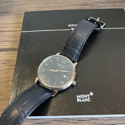 [WTS] Montblanc Blue Dial 117829 Automatic ($699)