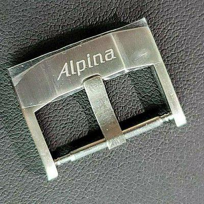 OEM Alpina stainless steel 20 mm tang buckle