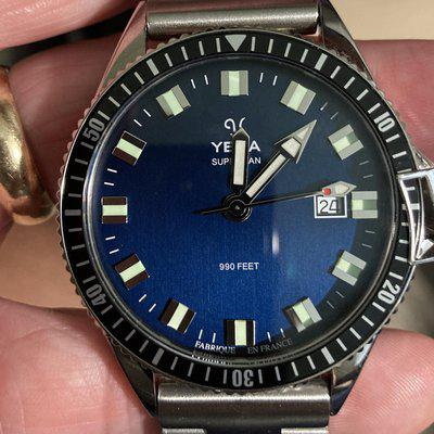 SOLD *** Yema Superman Dive Watch, As New