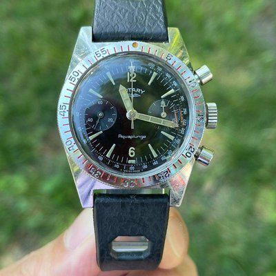 [WTS] Rotary Aquaplunge Skin Diver Chronograph cal. Valjoux 92 (Serviced+Box) $1950