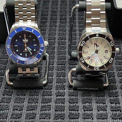 FSO: Two Mint Phoibos Dive Watches