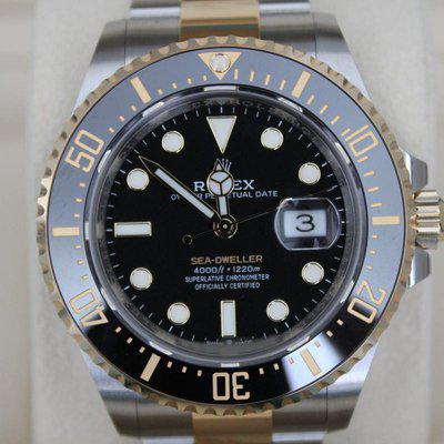 FS: AUGUST 2021 BNIB / NEW Rolex Sea Dweller 126603 43mm Two-Tone BOXES / PAPERS WOW
