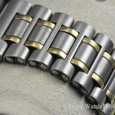 Looking for a two tone Breitling Aerospace bracelet.