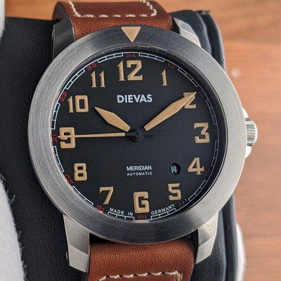 [WTS] Dievas Meridian Automatic - Made in Germany - 43.5mm - Like New Condition - Full Set - PRICE REDUCED