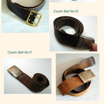 Custom vint. Leather Straps by Jurgens Germany FS